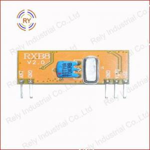 China FCC CE Standard RF Module for Car Alarm System RXB8 wholesale