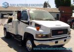 SL 3 Tow Truck Wrecker Body With GMC Chassis For Underground Parking Garage