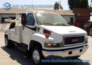 China SL 3 Tow Truck Wrecker Body With GMC Chassis For Underground Parking Garage on sale