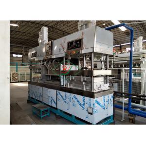China Tableware / Dishware Bagasse Fiber Pulp Molding Machine Semi Automatic on sale