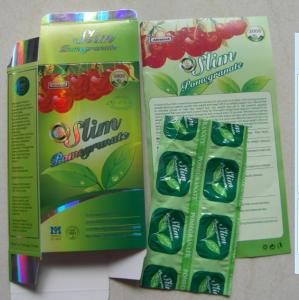 China Super Slim Pomegranate Weight Loss, Face Beauty Natural Slim Pills on sale