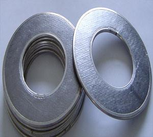 China Metal Reinforced Flexible Graphite Gasket, Custom Seals And Gaskets on sale