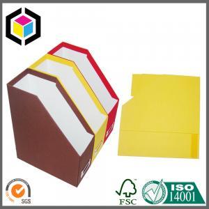China Fashion Design 2016 A4 Size File Chipboard Paper Folder; File Storage Paper Box on sale