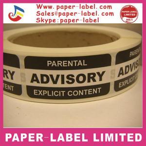 China Shockaction impact indicator shipping warning labels on sale