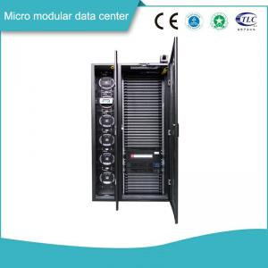 China Ventilation Cooling Micro Modular Data Center With Monitoring Security Systems on sale