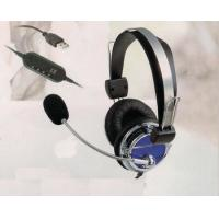 Excellent sound USB headphone cool USB headphone noise cancelling headphone with mic