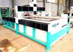 WAMIT 2000*4000mm Abrasive Waterjet Cutter / Water Laser Cutting Machine
