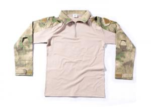 China A TACS FG Camo Shirt,Military Frog suit,Army t-shirt,camouflage tshirt on sale