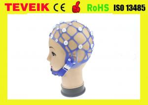 China Rubber Material EEG Cap Separating Neurofeedback 20 Electrode 1 Year Warranty on sale