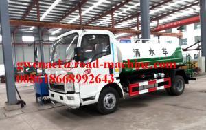 China Chaîne 45M d'injection de moteur du camion 95HP d'arroseuse de camion de réservoir d'eau de Sinotruck 4CBM on sale