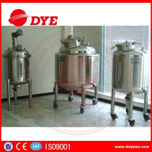China DYE Steam Heating Stainless Steel Water Tanks Alcohol Yoghurt on sale