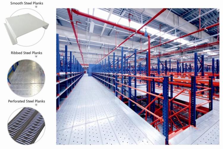Factory Price Nanjing Mezzanine floor racking system for
