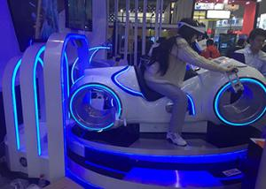 China Cool Appearance Virtual Reality Motorcycle Ride With Richful Game Content on sale