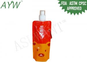 China Vivid Color Squeeze Spout Pouch Packaging250ml Drinking For Smoothies on sale