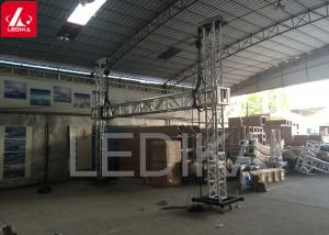 China Spigot Goal Post Type Tower Show Truss For Lighting and Speaker Sound on sale