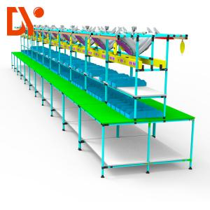 China Customized Lean Assembly Workstations DY148 , Stainless Steel Assembly Line Table on sale