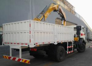 China XCMG telescopic boom truck crane with hydraulic system control on sale