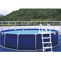Personal Use Steel Frame Pool , Metal Frame Paddling Pool EN71