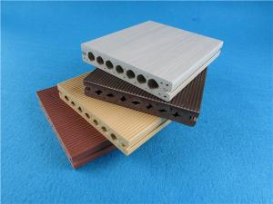 China Anti-Insect Outdoor WPC Composite Decking For Flooring Eco Friendly on sale
