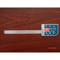 Flexible Printed Circuit Tactile Membrane Switch With Clear Window , Remote Control