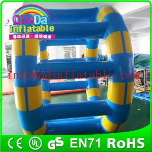 China QinDa Inflatable Water Roller Wheel,Water Wheel,Inflatable Water Game on sale