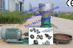 China Flat mould pellet making machinery for Fuel and Fertilizer/0086-15838061730 on sale