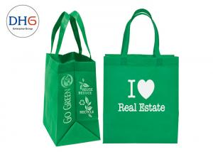 China Vivid Non Woven Lunch Bags , Non Woven Reusable Bags Bright Color Enhanced Image on sale