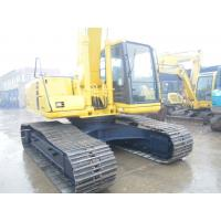 China 20 Tonne Used Crawler Excavator Komatsu , Used Earthmoving Equipment For Sale  on sale