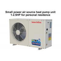 220 V Residential Heat Pump System , Split System Heat Pump Easy Maintenance