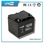 a válvula de 12v 65ah 100ah 150ah 200ah 250ah regulou a bateria acidificada ao chumbo para o sistema de telecomunicação