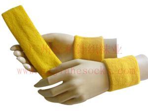 China Offer Custom Terry Athletic armband,Plain Sweat Arm Bands,Basketball Head Sweatband on sale
