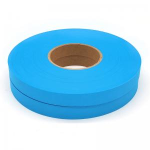 China Hot Air PU Seam Sealing Tape Machine, Hot Melt Sealing Tape Blue For medical disposable protective clothing suits on sale