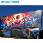 5mm Pixel Pitch Led Billboard Screen , IP67 Outdoor Smd Led Screen 6500cd/m2