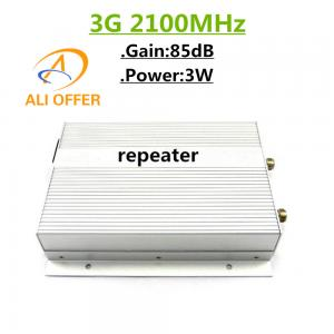 China 3W 3G 2100MHz Mobile Repeater,WCDMA 2100MHz Cellular Signal Booster Amplifier High Gain Power Provide Weak Signal Soluti on sale