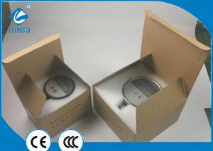 China Industrial Hydraulic Digital Pressure Gauge 4 Digital LED Display Pressure 0.4Kg on sale