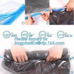 PA ziplock space bag for travel, vacuum pack mattress bag, vacuum storage bags, vacuum quilt packing bags, biodegradable