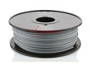 China PLA Plastic Filament 3D Print Material Vivid Colors , 1.75M / 3MM Filament Spool on sale