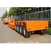 SHANDONG SHENGRUN BRAND 4 AXLES heavy duty 80T LOADING CAPACITY LOWBED semi trailer