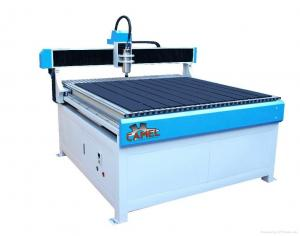 China CAMEL High precision 4*4 ft PVC table 3d woodworking advertising CA-1212 cnc router for doors on sale