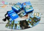 CMYK Printing Plastic Playing Cards 63x88mm Custom For Kids Glossy Finish