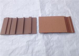 China Building Decorative Exterior Composite Wood Siding Panels Waterproof on sale
