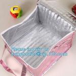 Reusable aluminium Portable Oxford Cloth Insulation lunch bag Quality Thermal cooler Disposable Office Lunch Bag PACK