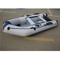 Drifting White Inflatable Kayak Boat with Air Deck /Aluminum Boat Floor