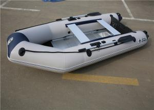China Drifting White Inflatable Kayak Boat with Air Deck /Aluminum Boat Floor on sale