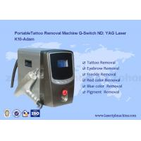 Portable Q - Switch Laser Tattoo Removal Machine Powerful 500-1000V