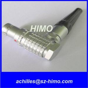 Quality manufacturer in china 2 pin lemo 90 degree right angle to 4 D-tap splitter Cable for sale