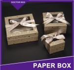 Custom Luxury Design Small Paper Wedding Door Gift Box/Valentine'S Day Souvenirs Wedding C