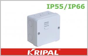 China Caja de conexiones terminal al aire libre del teléfono de la pequeñaPC ininflamable que ata con alambre IP55 IP66 on sale