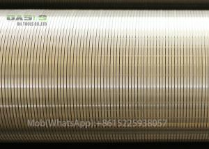 China SUS304 water well screen/johnson well screen pipe/johnson v wire well screen on sale