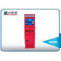 55 inch IP66 free standing kiosk with waterproof  media function